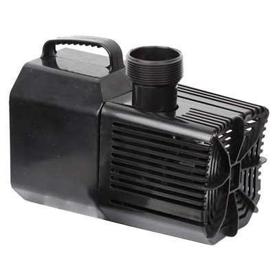 Beckett Waterfall Pump with Auto-Shutoff 2100 gph with FREE Green Vista Protective Pump Bag 3000 Value