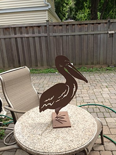 Metal Garden Art-pelican