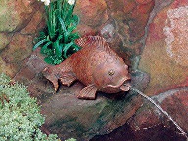 Becket Goldfish Pond Spitter