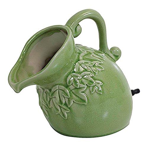 pond boss SPPS Ceramic Pouring Pitcher Spitter Sage