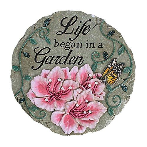 Carson Home Accents Beadworks Garden Of Life Garden Stone