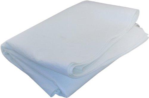 Duda Energy sheets100u 1 yd x 72 Singed Polyester Felt Filter Media Fabric Sheet 100 Micron Polyester