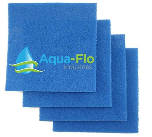 Aqua-flo 12&quotx 12&quotx 1&quot Rigid Pond Filter Media 4 Pads 4 Square Feet