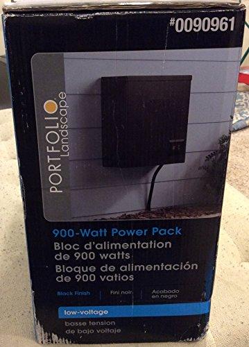 Best New Portfolio 900-Watt 120 Volts Multi-Tap Landscape Lighting Transformer with Digital Timer with Dusk-To-Dawn Sensor Energy Efficient - Save Money