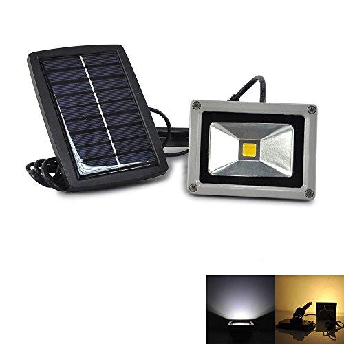 Pathway Light 10w Solar Power LED Flood Night Light Garden Spotlight Waterproof Outdoor Lamp Low Voltage Deck Lights