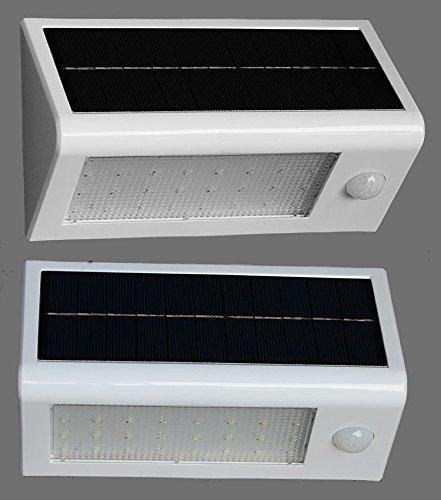 Pathway Light 32led Waterproof Solar Motion Sensor Garden Lamp Outdoor Wall Lightwhite Low Voltage Deck Lights