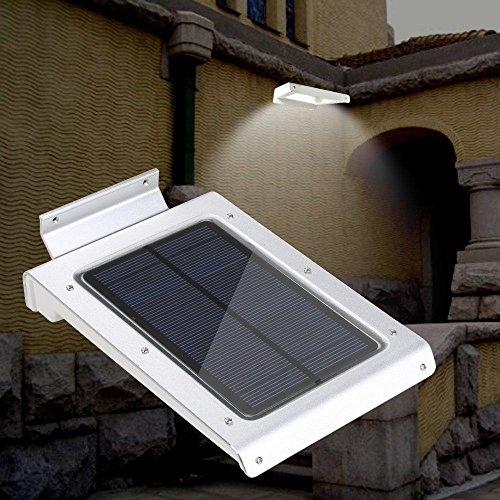 Pathway Light 350 Lumen Wireless 46 LED Solar Motion Sensor Light Outdoor Wall Garden Lamp Low Voltage Deck Lights
