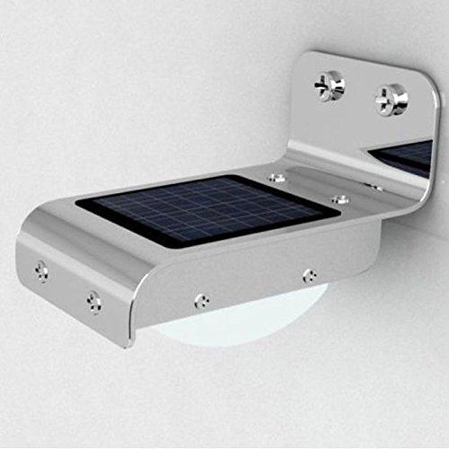 Pathway Light NEW 24 LED Solar Power Outdoor Lamp PIR Motion Sensor Security Light Waterproof Low Voltage Deck Lights