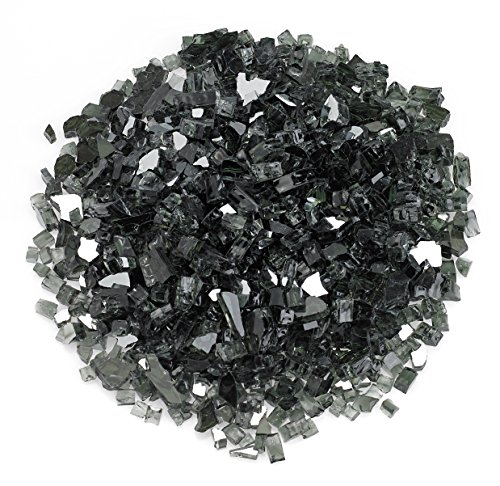 Midwest Hearth Fire Glass  10-pound  Beautiful Reflective Fireglass And Beads For Natural Or Propane Fire Pit