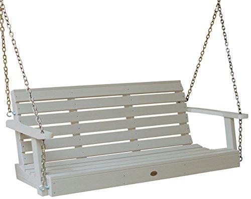 Highwood Weatherly Porch Swing 5 feet Whitewash