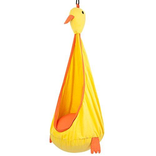 Driftsun Hammock Pod Kids Swing  Outdoor And Indoor Childrens Hammock Chair Nook duck