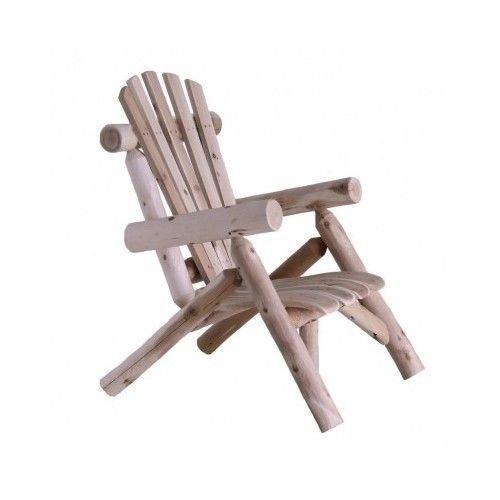 Cedar Lounge Chair Natural Log Patio Furniture Lawn Swing Porch Yard Lake Side po44t-kh435 H25w3383533