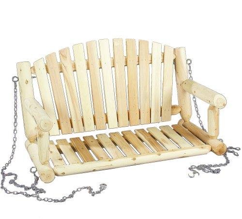 Cedarlooks 070026c Log Porch Swing 4-feet