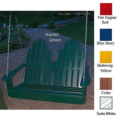Adirondack Porch Swing Sage