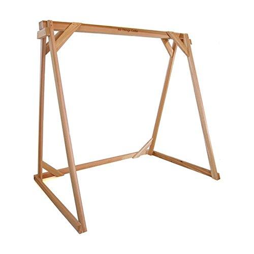 All Things Cedar Porch Swing A-frame - Western Red Cedar