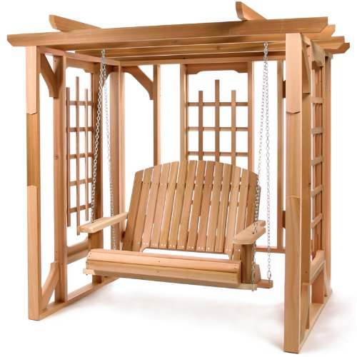 All Things Cedar Pergola Swing Kit