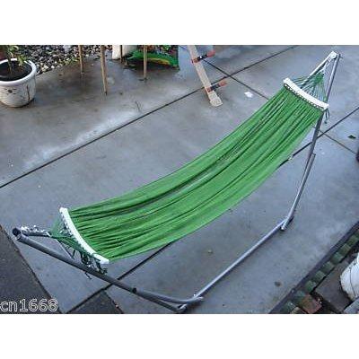 Indooroutdoor Ban Mai Adult Hammock Swing Bed With Adjustable Medium Duty Metal Frame 72&quot For Adult Under 6 Feet