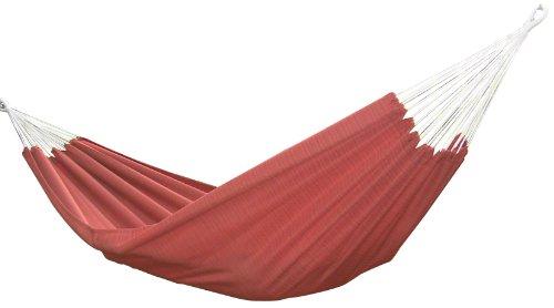 Vivere Brazilian Style Sunbrella Double Hammock Papaya