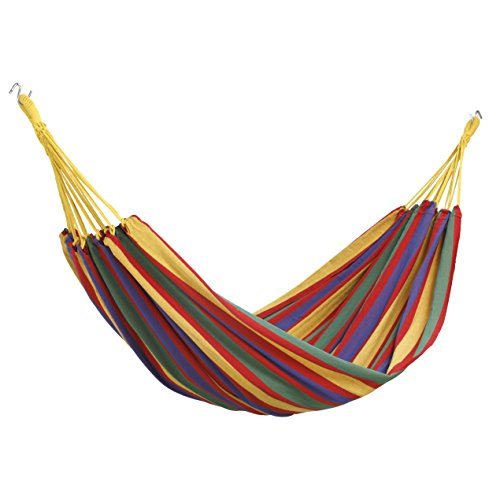 Vonhaus Portable Lightweight Double 2 Person Outdoor Camping Brazilian Hammock With Travel Bag