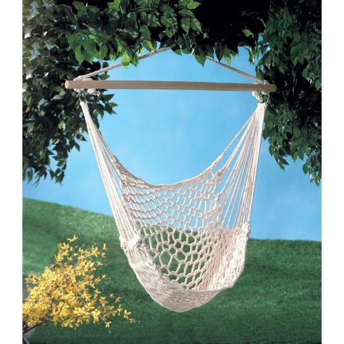 Cotton Net Chair Hammocks Set of 2