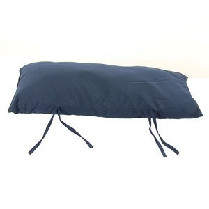 Sunnydaze Hammock Pillow Navy Blue 30 Inch Long x 12 Inch Wide