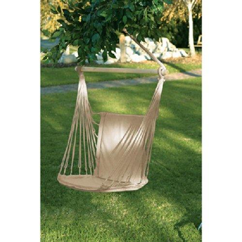 Hanging Chair Outdoor Hammock Portable Corner Swing Beach Sunbrella Indoor Family Seat Patio Backyard Decor