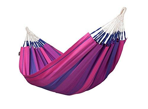 LA SIESTA Orquídea Purple - Cotton Single Hammock