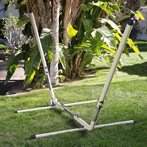 Island Bay Adjustable Hammock Stand with Wheels