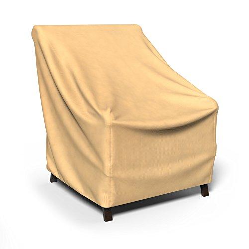 Budge All-Seasons Patio Chair Cover Medium Tan