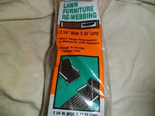 Frost King Re-Webbing Lawn Furniture 39 Long Brown
