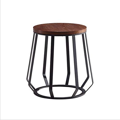 Boyishengshi Element Wrought Iron Coffee Table Corner Modern Minimalist Side Small Living Room Wrought Iron Furniture