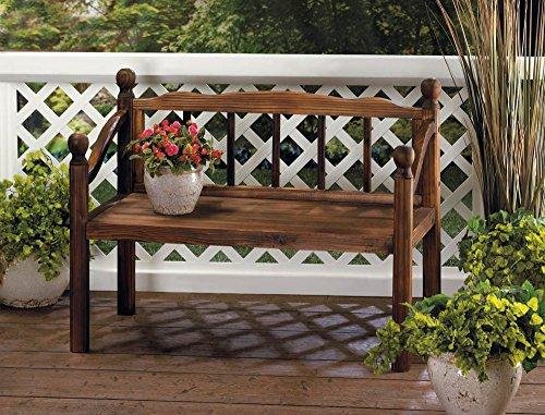 Garden Planters Wooden Bench Flower Plant Stand Box Holder Home Corner Indoor Outdoor Patio Decor