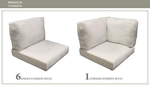 TK Classics Cushions-MIAMI-08e Cushions Patio Furniture White