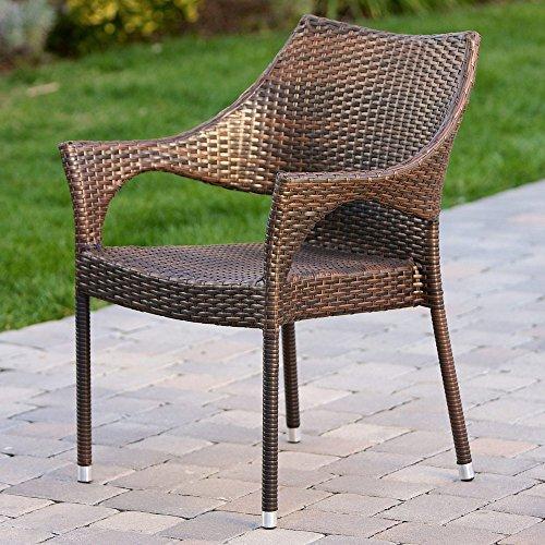 Best Selling Peak Outdoor Wicker Chairs Set of 2