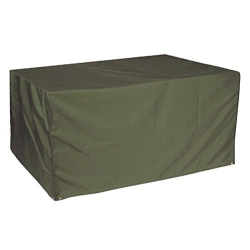 Sunray Large Waterproof Outdoor Garden Patio Furniture Set Cover Dark Green 106 x 70 x 35