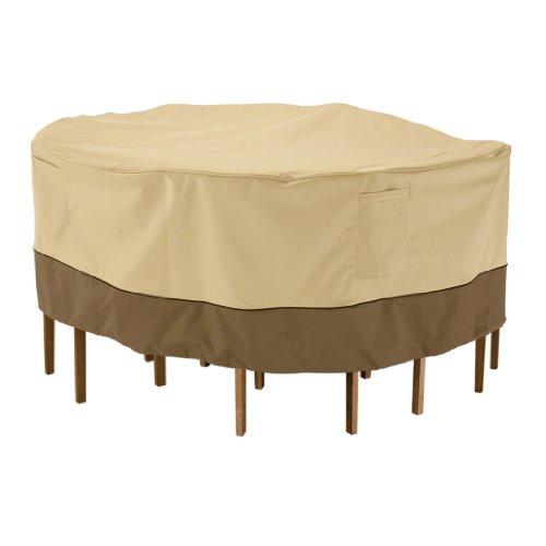 Classic Accessories 78922 Veranda Patio Tableamp Chair Set Cover Medium