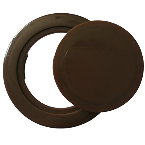 Do4u Patio Table Umbrella Hole Ring Plug Cover And Cap For Table Set -2-inch-coffee