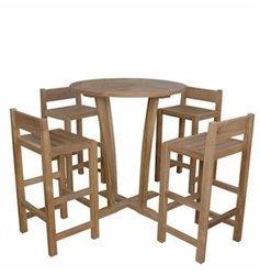 Anderson Teak Patio Lawn Garden Furniture Descanso Sedona Bar Set