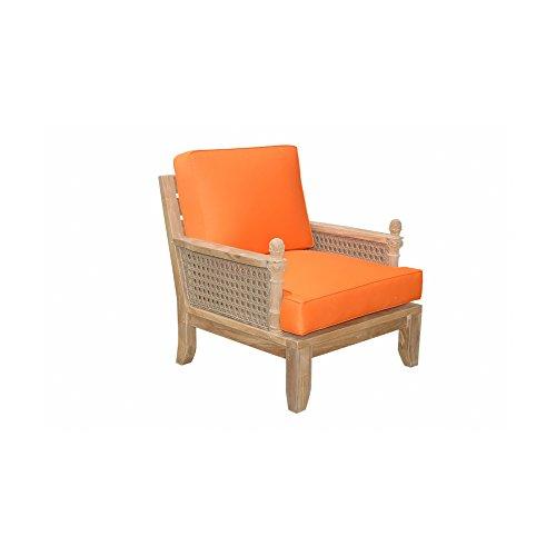 Anderson Teak Patio Lawn Garden Furniture Luxe Armchair