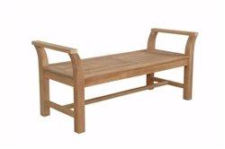Anderson Teak Patio Lawn Garden Furniture Sakura Backless Bench