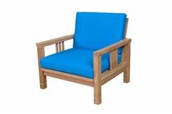 Anderson Teak Patio Lawn Garden Furniture SouthBay Deep Seating Armchair