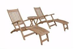 Anderson Teak Patio Lawn Garden Furniture Tropicana Montage Set
