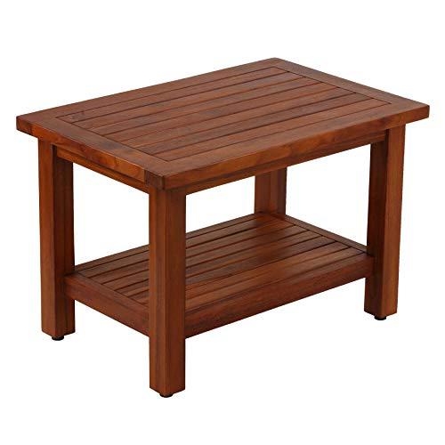 Bare Decor Fieta Solid Teak Wood Coffee Table
