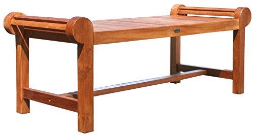 Teak Wood Lutyens IndoorOutdoor Patio Coffee Table Made from Solid A-Grade Teak