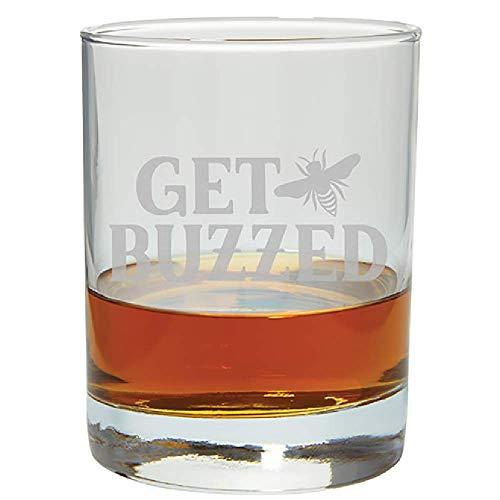 Carson 23708 Buzzed Rocks Glass 12-ounce Clear