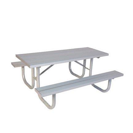 8 H-D Picnic Table - Aluminum