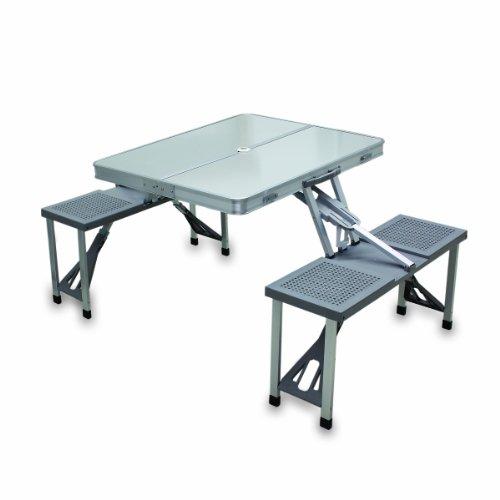 Picnic Time Folding Aluminum Picnic Table