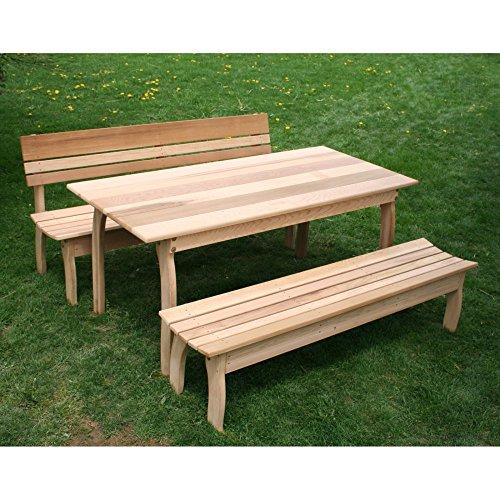 Creekvine Designs Odd Couple Cedar Picnic Table Set