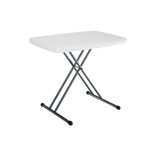 Lifetime 28241 Folding Personal Table 30 By 20 Inch White