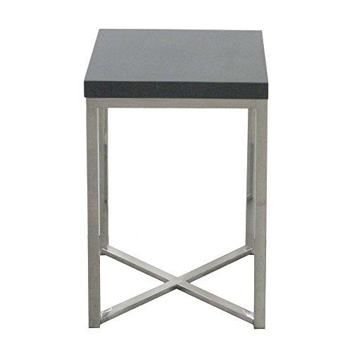 Benzara HRT-37411 Three Wonderful Metal Wood End Table